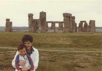 Stonehenge, England, 1984