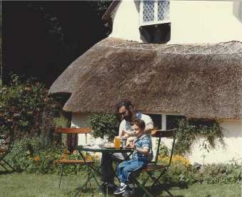 The Devon countryside, 1984