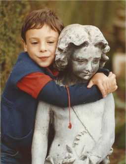 David in Devon, England, 1986