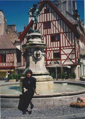 Me in Burgundy, France, 1994