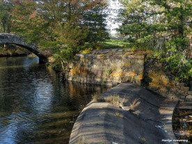 Spillway on the canal