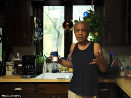 In the kitchen with Garry