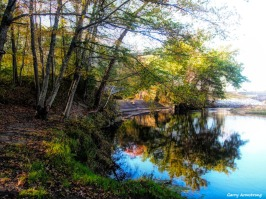 Blackstone River and foliage - Photo: Garry Armstrong