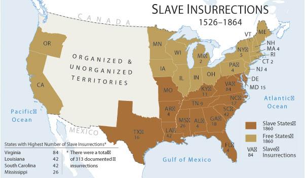 slave revolts