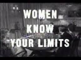 sexism - know limits