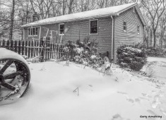 Photo: Garry Armstrong - In the blizzard