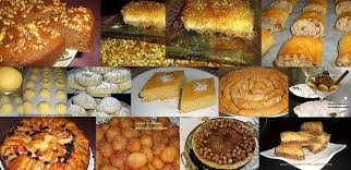 middle eastern desserts
