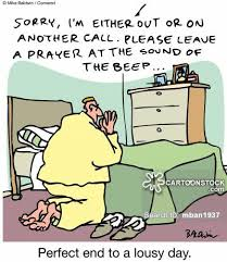 cartoon - please leave prayer at sound of beep
