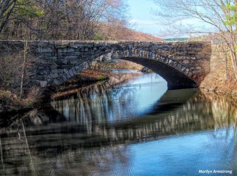 Bridge over the Blackstone River