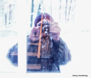 Snowy selfie - Photo: Garry Armstrong