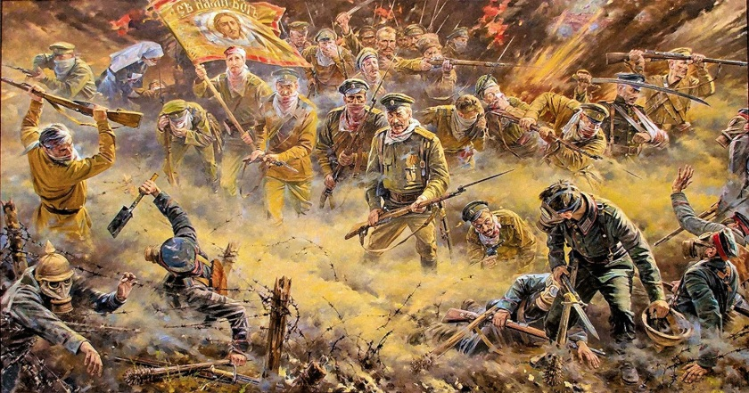 Attack of the dead in the Osovets fortress: only Russians can do that 75