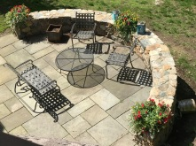 patio- above closeup