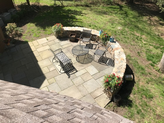 patio - above
