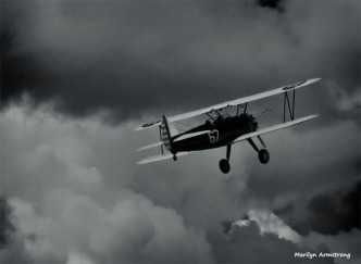 180-BW-Into the clouds-Flying-Tuskegee-Airmen-090917_051
