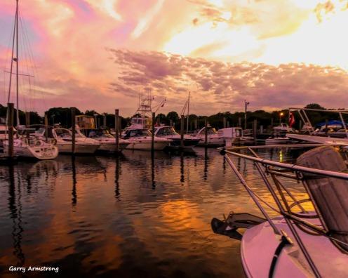 Photo: Garry Armstrong - Housatonic River marina