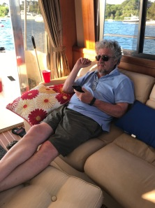 Tom chilling inside