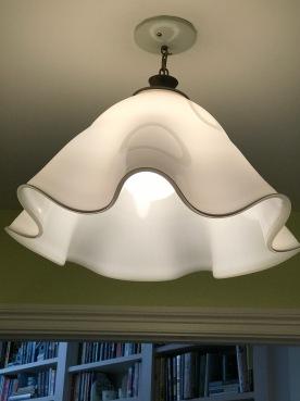 Mid Century Modern Kerchief chandelier