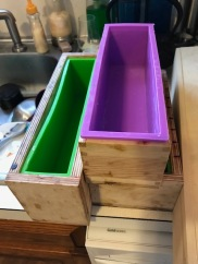 Molds for soap