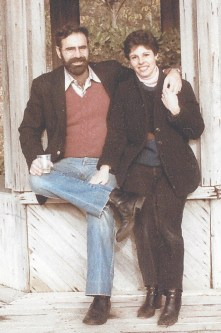 Larry and me on one of our numerous trips to California