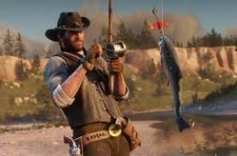 red dead fishing