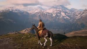 red dead riding horse