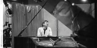 Bernstein at the piano
