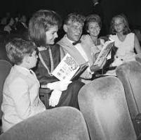 Bernstein and Jackie Kennedy