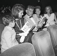 Bernstein and Jackie Kennedy