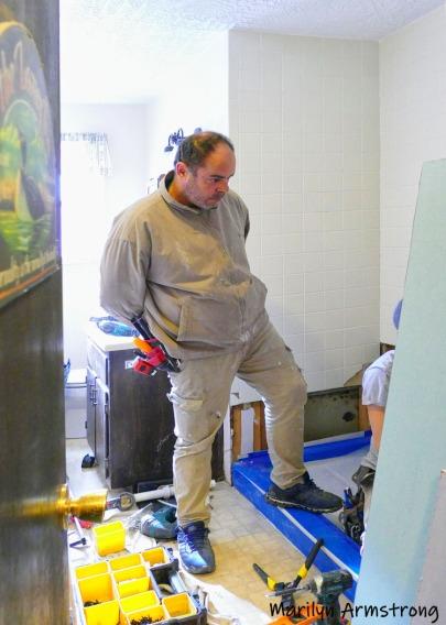 Installing plumbing
