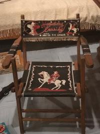 A cowboy chair?