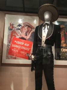 Movie poster and costume