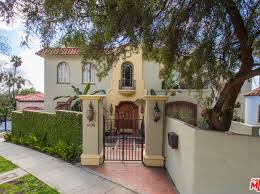 Fancy house in the hills of LA