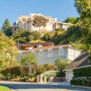 Houses in the LA hills