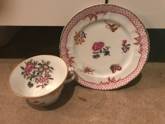 Another of my mother's beautiful china sets