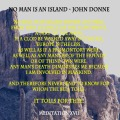 No man is an island john donne
