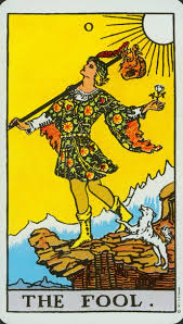 The Rider-Waite Fool (The deck on which I first learned Tarot)