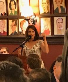 Tina as presenter