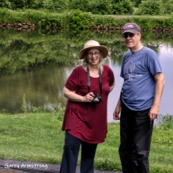 Photo: Garry Armstrong - Marilyn and Rich along the Canal