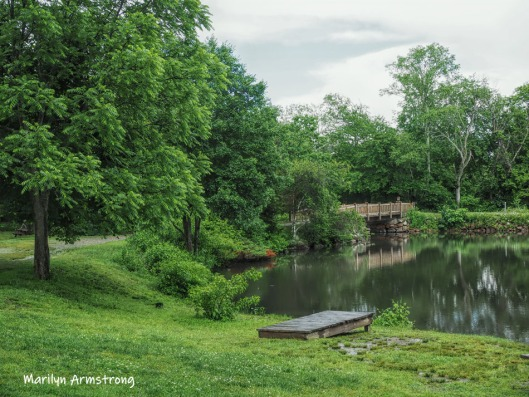 The footbridge