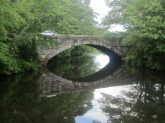 The old stone bridge on the Canal