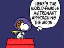 Snoopy as astronaut