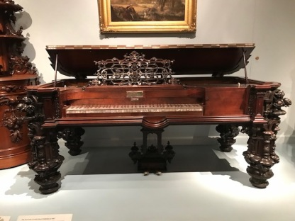 Ornate piano