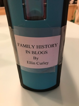 My Family BLog Binder
