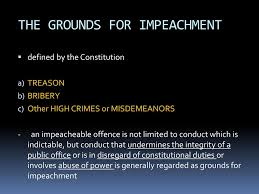 impeach - grounds