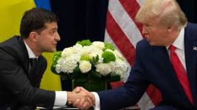 Trump and the President of the Ukraine
