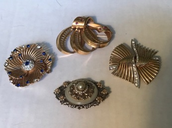 These were Grandma's dressier, more classic pins.