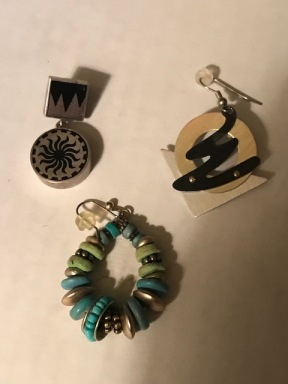 More Craft Show earrings in my collection now.
