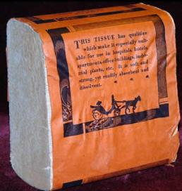 Early toilet sheets