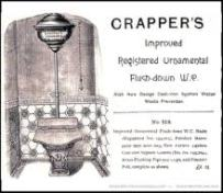Early flush toilet ad