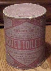 Early toilet paper roll